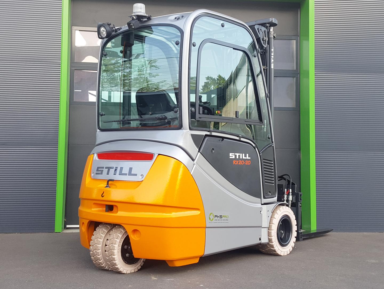 Viličar STILL RX20-20 – Generalno obnovljen z dobro baterijo (73%)
