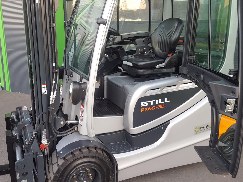 Viličar STILL RX60-35 – Generalno obnovljen z odlično baterijo (85%)