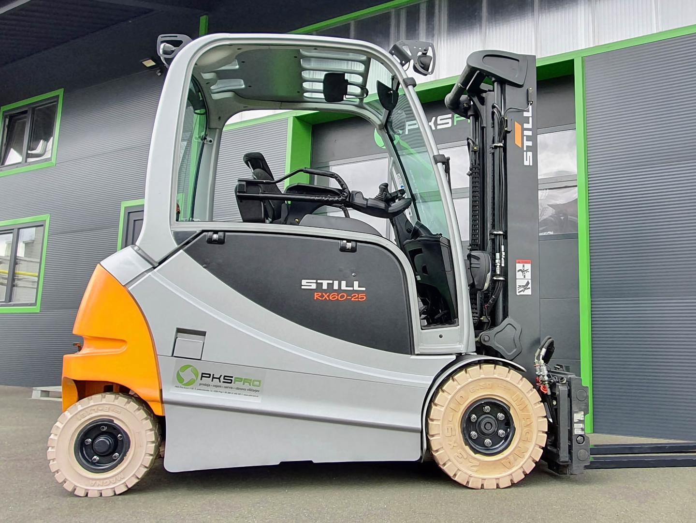 Viličar STILL RX60-25L – Generalno obnovljen z odlično baterijo (107%)